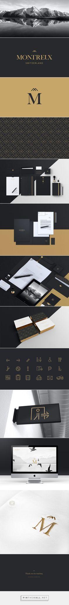Montreux | Branding on Behance - created via https://pinthemall.net