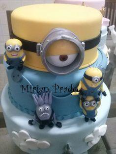 despicable me cakes | www.mirianprado.c...