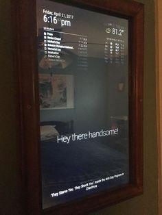 Picture of Smart Mirror -Raspberry Pi 3
