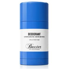 DEODORANT      Citrus & Herbal - Musk  Aluminum Free    Alcohol Free   Sensitive Skin Formula