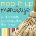 monday :: mop it up mondays