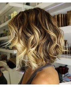 Ombre blonde hair couldn't be more perfect for the sunny season, for all those who aren't afraid to reveal a little faux regrowth. It also m...