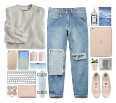 """""""the way"""" by khansaerika ❤ liked on Polyvore featuring Forever 21, Juicy Couture, Black Apple, R+Co, H&M and Acne Studios"""
