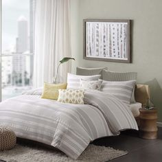FREE SHIPPING! Shop Wayfair for Ink + Ivy Lakeside 3 Piece Comforter Set - Great Deals on all Bed & Bath products with the best selection to choose from!