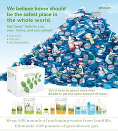 """ONE Bottle makes 48 Gallons of All-Purpose Cleaner!  (One bottle of Basic H2 equals the cleaning uses of 5,824 bottles of 26 oz. Windex)  For every ONE Bottle of Basic H2 used for All-Purpose Cleaning you would use 12 bottles of vinegar plus, if needed, baking soda to do the same amount of clean. Plus, Basic H2 has the smell of """"clean"""" and is pH balanced with our skin. No need to wear gloves or a mask."""