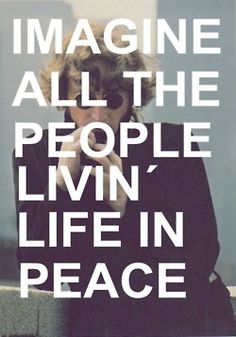 Imagine Peace
