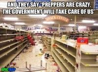 """Food is not in short supply, it's brains that are in short supply"" – Doomsday Preppers Now that the prospects of a second Obama administration are..."