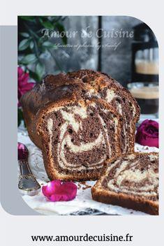 Ce cake marbré est le meilleur, il est toujours demandé par mes enfants, un cake marbré moelleux et fondant à souhait, une cuisson parfaite et un texture des plus meilleur. Confort Food, Un Cake, Fondant, French Toast, Bakery, Menu, Bread, Flan, Breakfast