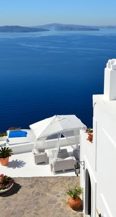 A Summer's Day in Oia, Santorini