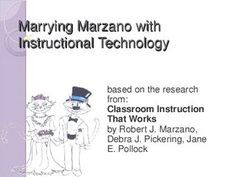 Marry Marzano w/ Instructional Technology (based on research from: Classroom Inst That Works by Marzano, Pickering, Pollock)