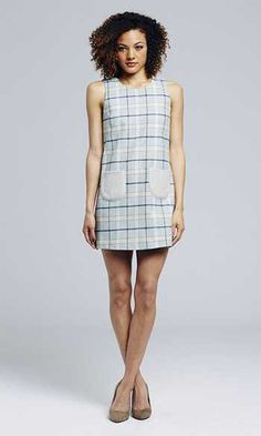 Paper Crown Emerson Dress is the prettiest plaid we've ever seen!
