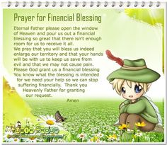 Worship & Praise: Prayer for Financial Blessing