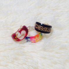 アクセサリー:レジン指輪