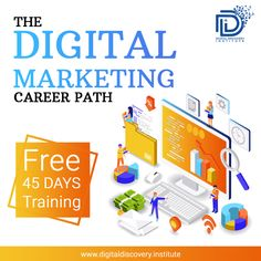 Enrol today for certified Digital Marketing Training. DDI provides a combinational approach of theoretical and practical learning on live projects. Content Marketing, Digital Marketing, Career Path, Free Quotes, Training Programs, Discovery, Seo, Opportunity, Entrepreneur