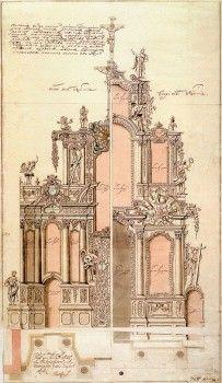 Гербель Н. Ф., Иконостас церкви преподобного Исаакия Далматского. 1719-1723.