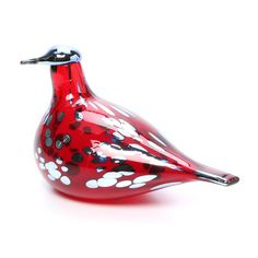 Iittala Birds By Toikka Ruby Bird Figurine Contemporary Decorative Objects, Decorative Items, Decorative Accents, Home Goods Decor, Glass Birds, Marimekko, All Modern, Red And Pink, Accent Decor