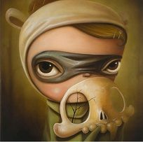 Kathie Olivas Pop Surrealism art print