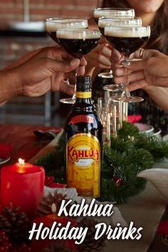 Looking for the perfect drink to impress your friends at your holiday shindig? Look no further. Here is our list of Kahlua classic drinks to give your get together that fun, festive taste. Click in to check out recipes for classic drinks like the Espresso Martini, White Russian, and Mind Eraser. And don't worry, you don't need to wait for the holiday gathering to enjoy; these are tasty treats for any cold winter night.