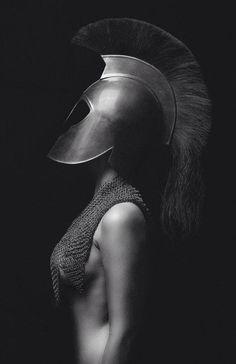Photographer Unknown - Fashion Photography - Greek Mythology - Athena concept ideas by vladtodd