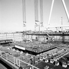On Aug. 25, 1986, the keel was laid on the aircraft carrier USS George Washington (CVN 73)