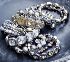 Vaga Beaded Jewelry, Jewellery, Brooch, Beads, My Style, Bracelets, Rings, Floral, Inspiration