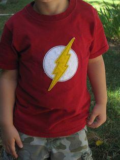Flash, felt patch... Etsy listing at https://www.etsy.com/listing/161096825/the-flash-felt-embellishment