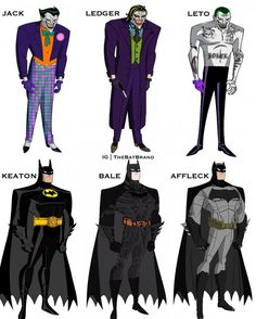 Which is the best batman and joker in your opinion then? Mine is Ledger and Affleck