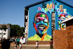 Mbare, Harare, Zimbabwe mural