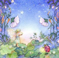 XL Print Dream a Little Dream  Room Decor Fairy by Periwinklesky, $34.99