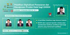 Latih UMKM, BPJPH Gandeng Perusahaan Digital