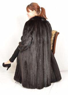 a33f3efb59a US816 Mink Fur Coat Jacket abrigo de vison шуба Mex норка Nerzmantel Nerz  ~18