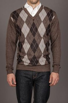 Men's Argyle V-Neck Sweaters | Old Navy | Photo shoot outfits for ...
