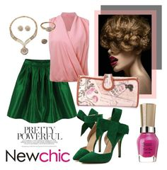 """""""Love NewChic"""" by pixidreams ❤ liked on Polyvore"""