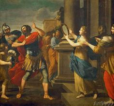 Giovanni+Francesco+Romanelli+-+Jephthah+sees+his+daughter