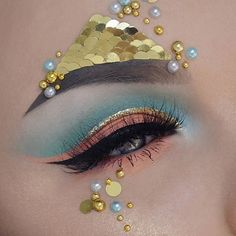 BROW INSPIRATION : DECORATED BROW 9