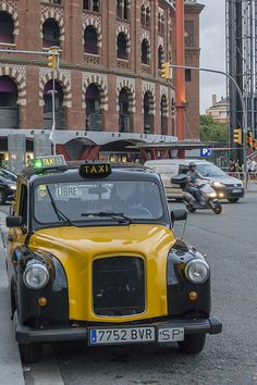 1000 images about taxi collections on pinterest london andy murray and varadero cuba - Cab in barcelona ...