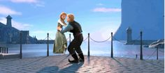 The Definitive Collection of Cute Anna and Kristoff Moments | Oh My Disney