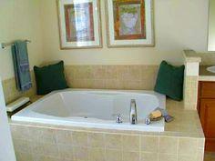 The Tidewater Modular Home - Garden tub in master bathroom