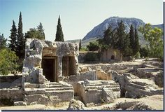Ruins at Mycenae