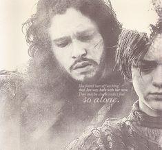 Arya Stark and Jon Snow ~ Game of Thrones