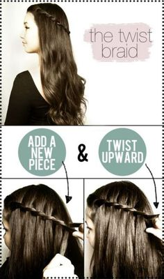 the twist braid...how to!