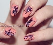 Inspiring picture blur, cute, girly, nail, nail art. Resolution: 500x329 px. Find the picture to your taste!