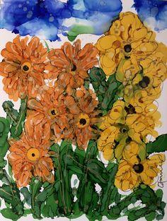 """Something's Brewing"" Lovitude Soul Painting by Annie Pryor"