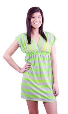"""Comfort Sport"" cover up in green. Only at www.copabikinis.com"