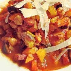Lekkere zuiderse soep uit dagelijkse kost van Jeroen Meus.