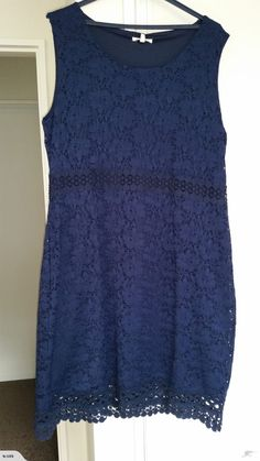 Navy Lace Dress for sale on Trade Me, New Zealand's auction and classifieds website Navy Lace, Dresses For Sale, Lace Dress, Tops, Women, Fashion, Moda, Dress Lace, Fashion Styles