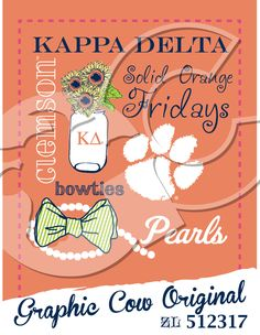 Solid Orange Friday tiger paw mason jar sunflowers pearls bow tie game day #grafcow  sc 1 st  Pinterest & Tradition on the Boulevard bow tie tent dress gameday #grafcow ...