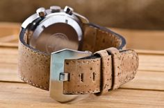 Just Because: Portuguese Cork Watch Straps