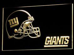 3D Giants Helmet Led Sign
