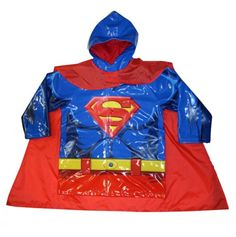 Superman Raincoat for children